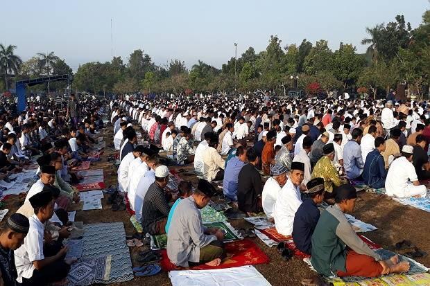Salat Idul Adha di Alun-alun Wates, Khatib Ajak Jaga Persatuan Bangsa