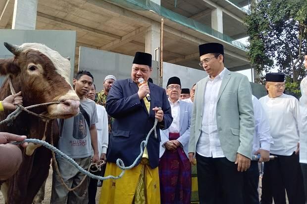 Idul Adha 1440 H, DPP Golkar Sembelih 24 Ekor Sapi