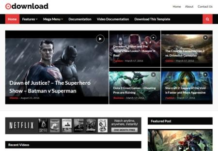VIDEO DOWNLOAD FREE BLOGGER TEMPLATE