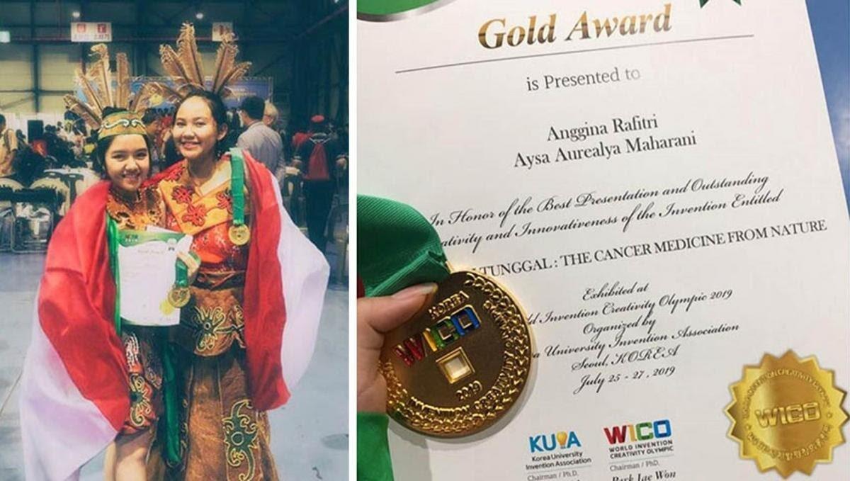 2 Remaja Asal Kalimantan Temukan Obat Kanker Payudara
