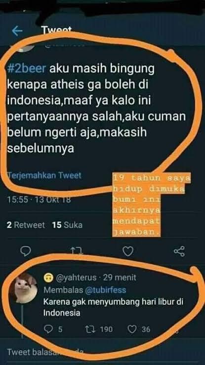 Agnostik di Indonesia: Menentang Suara Mayoritas di Negeri Religius