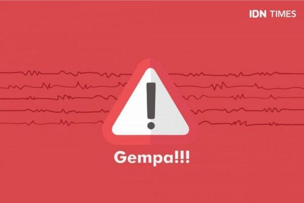 [BREAKING]Gempa M 5,1 di DIY, Pusat di Bantul Terasa Hingga Pacitan