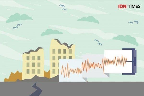 [BREAKING] Gempa M 5,1 di Yogyakarta,Guncangan Terasa Beberapa Detik