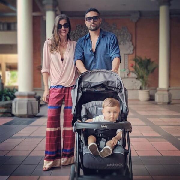 Tinggal di Bali, 10 Potret Harmonis Keluarga Kecil Gaston Castano