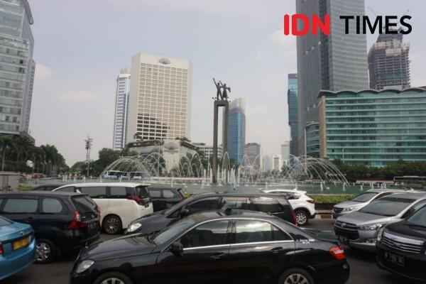 Kualitas Udara Jakarta Sore Ini Lebih Baik dari Bekasi dan Depok