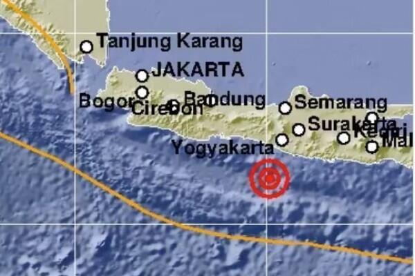 [BREAKING] Gempa Guncang Yogyakarta, Tidak Berpotensi Tsunami