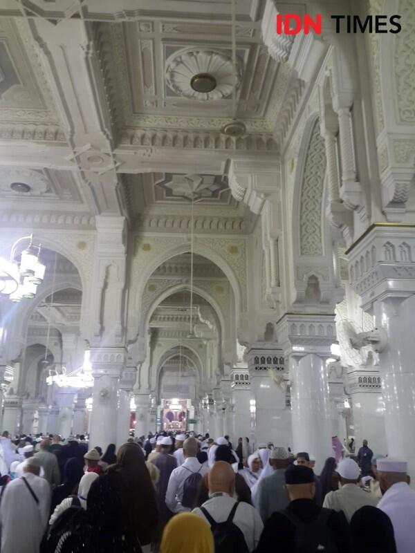 Menikmati Keindahan Masjidil Haram Saat Haji dan Umrah