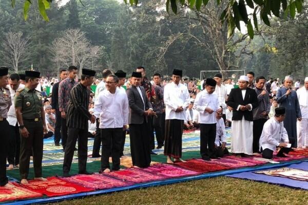 Ditanya Soal Hewan Kurban, Jokowi: Tanyakan pada Sapinya
