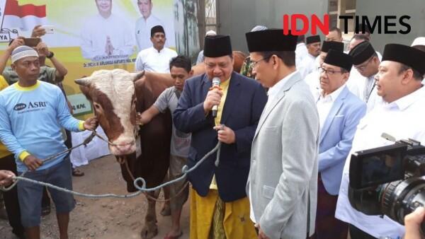 Airlangga Hartarto Hingga ARB Salat Iduladha di DPP Golkar