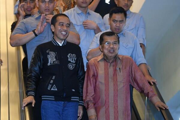 Jokowi Kurban Sapi Limosin 1,7 Ton di Masjid Istiqlal