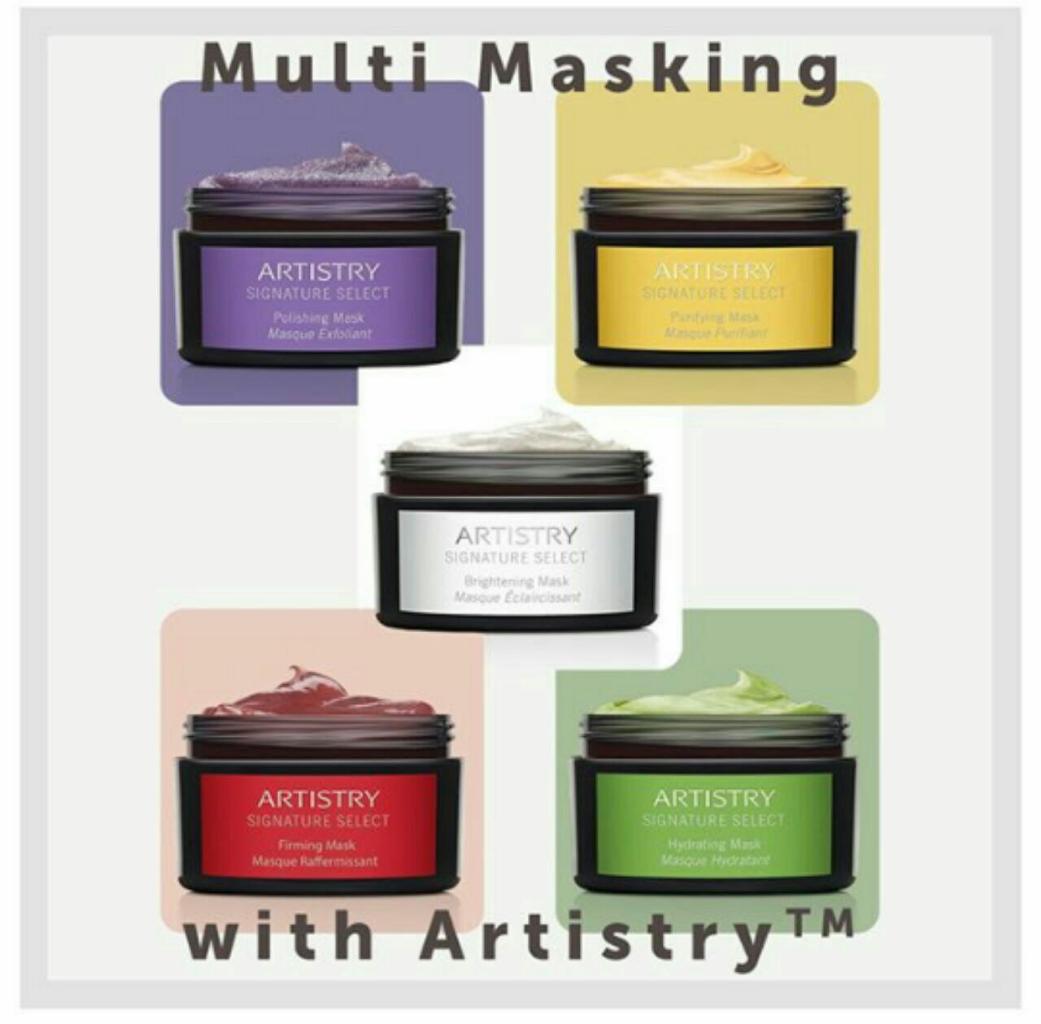 Mengatasi Masalah Kulit Dengan *ARTISTRY SIGNATURE SELECT Polishing Mask*