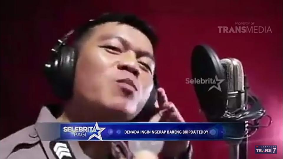 Viral Video Bripda Teddy Nyanyi dan Nge-Rap Lagu Tahu Bulat, Bikin Ngakak Gan!