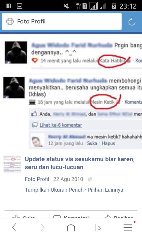 Tiga Fitur Di Facebook Yang Sudah Gak Jaman Lagi.