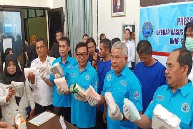 Bekuk Pengedar Narkoba Lintas Negara, BNN Sita 23 Kg Sabu dan 7.741 Pil Ekstasi