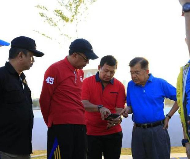 Iqbal Suhaeb Dampingi Wapres JK Tinjau Pembangunan Masjid 99 Kubah