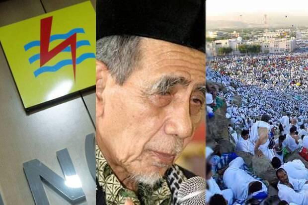 Listrik Mati, Mbah Moen Wafat dan Puncak Ibadah Haji