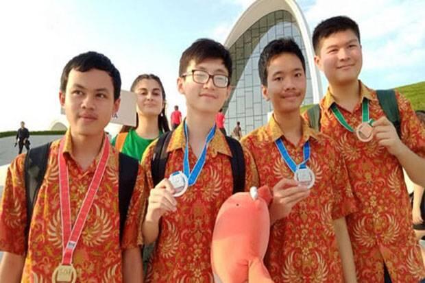 Pelajar Indonesia Sukses Raih 4 Medali di Azerbaijan