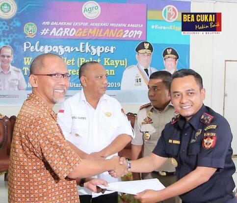 Bea cukai Gorontalo Dorong Ekspor 34 Ribu Ton Wood Pallet