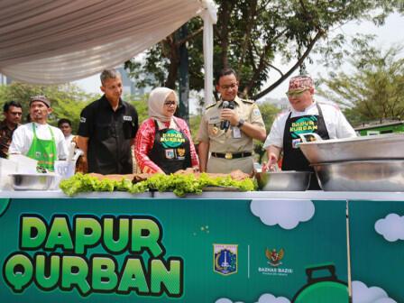 Pemprov DKI Gelar Acara Dapur Qurban, Kolaborasi untuk Berbagi