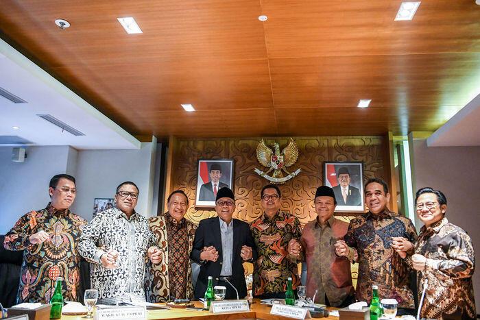 Demi politik akomodasi, pimpinan MPR diusulkan 10 orang