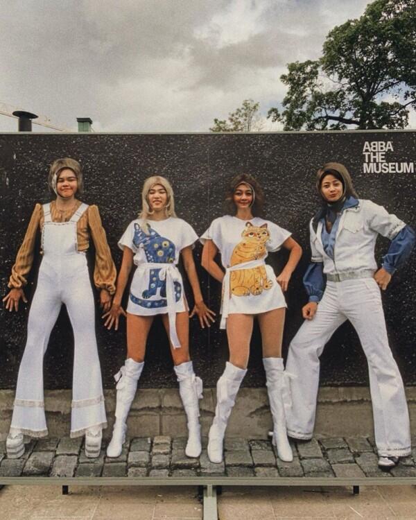 10 Potret Liburan Isyana Sarasvati di Stockholm Swedia, Bak Video Klip