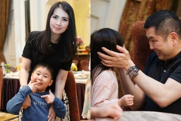 10 Potret Hangat Liliana & Hary Tanoe Saat Momong Cucu, Manis Banget