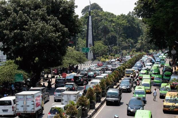 Kemacetan di Sekitar Kebun Raya Bogor Dikeluhkan Warga