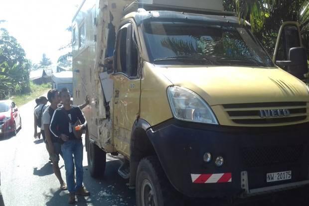 Pelancong Asal Swiss Terlibat Kecelakaan di Bengkulu Utara