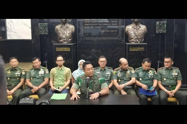 Jenderal Andika: TNI AD Putuskan Pertahankan Enzo Allie