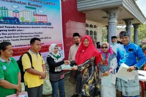 Disdukcapil Kota Pekanbaru Terapkan Aplikasi TTE