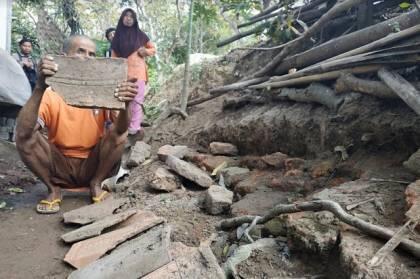 Struktur Batu Bata Kuno di Dawarblandong Pemukiman Kerajaan Majapahit