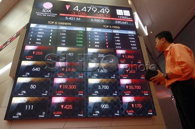 IHSG Berakhir Tergelincir ke Level 6.210, Bursa Hong Kong Terkapar