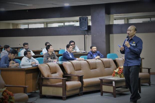 Kuliah Singkat Kepala BPSDM ESDM pada Diklat Afghanistan