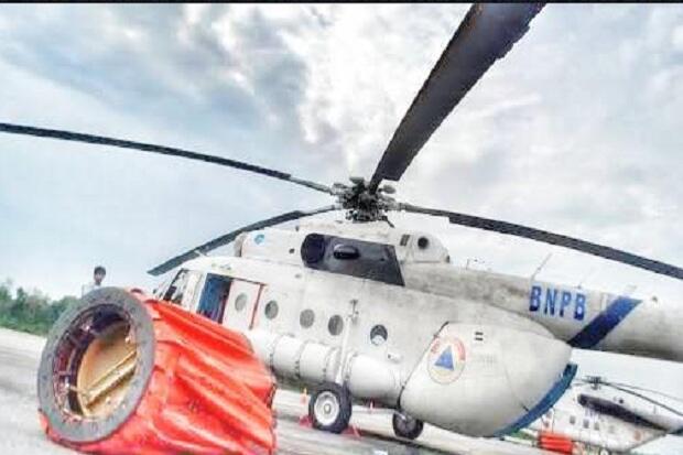Sesak Napas, Teknisi Heli Water Bombing Sumsel asal Rusia Meninggal di RS