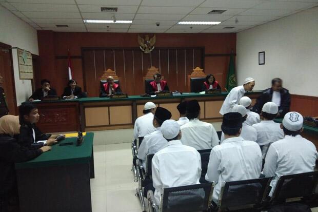 84 Terdakwa Kasus Kerusuhan 22 Mei Jalani Sidang Perdana secara Sporadis
