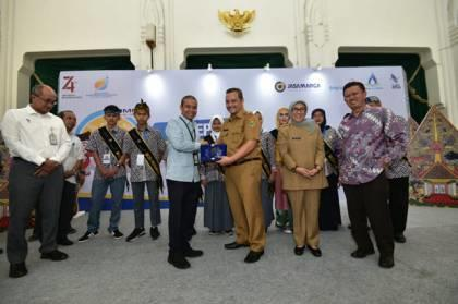Sinergi BUMN, Jasa Marga Lepas 30 Siswa Mengenal Nusantara