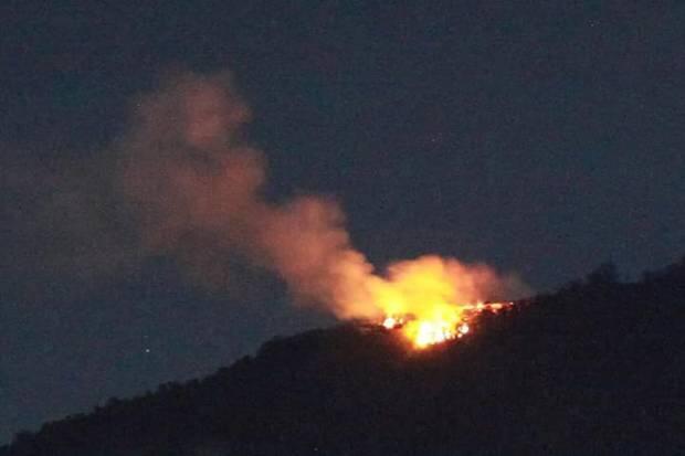 Kebakaran Hutan dan Lahan di Gunung Batukaru Bali