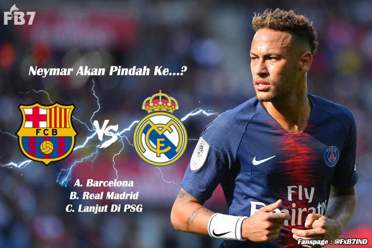Ngeramal Neymar Akan Pindah Kemana.
