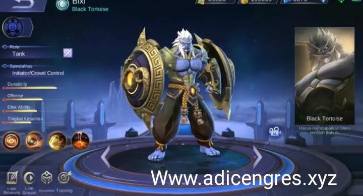 Bixi Hero Baru Mobile Legend Pesaing Terberat Jhonson