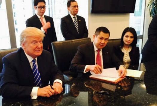 Kerja Sama dengan Trump, Hary Tanoe Pakai Uang dari China?