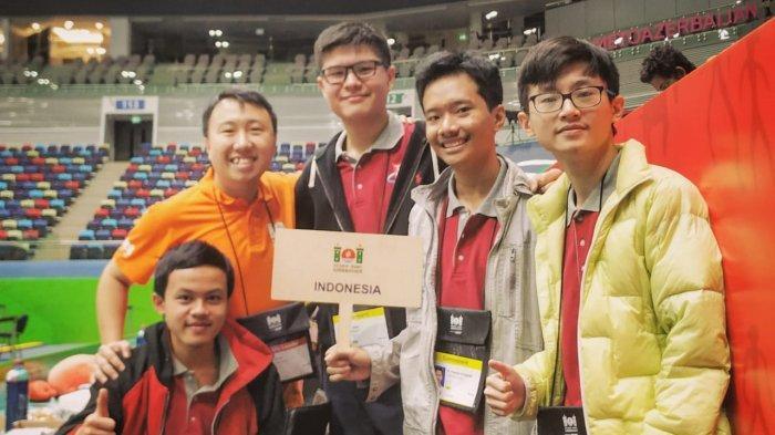 Tim Olimpiade Komputer Indonesia Menang di Azerbaijan