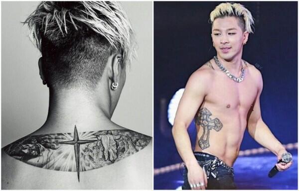 10 Potret Idol K-Pop dengan Tato Terkeren, Ada Makna Dibalik Tatonya!