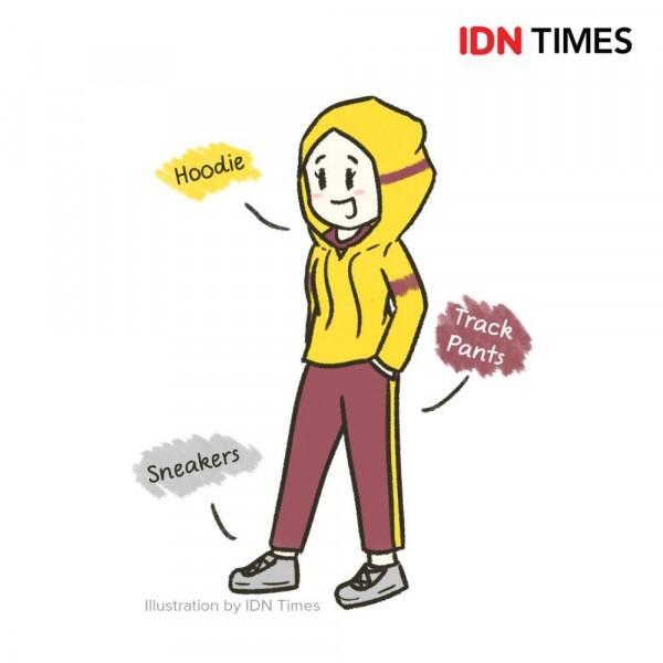 10 Ilustrasi Style Cewek Tomboi, Referensi Kece yang Bisa Disontek