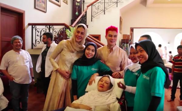 10 Momen Bahagia Syukuran 4 Bulan Calon Buah Hati Paula dan Baim Wong