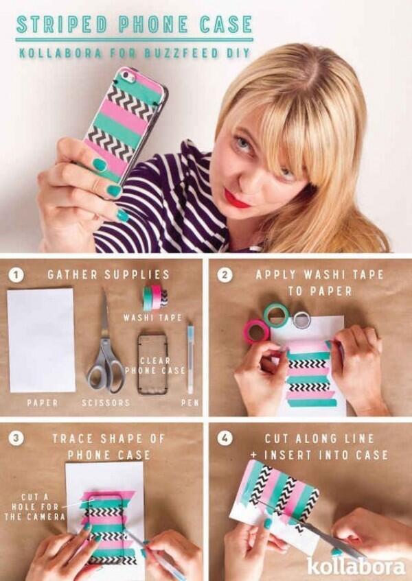 10 DIY Gampang Biar Phone Case Makin Menarik!