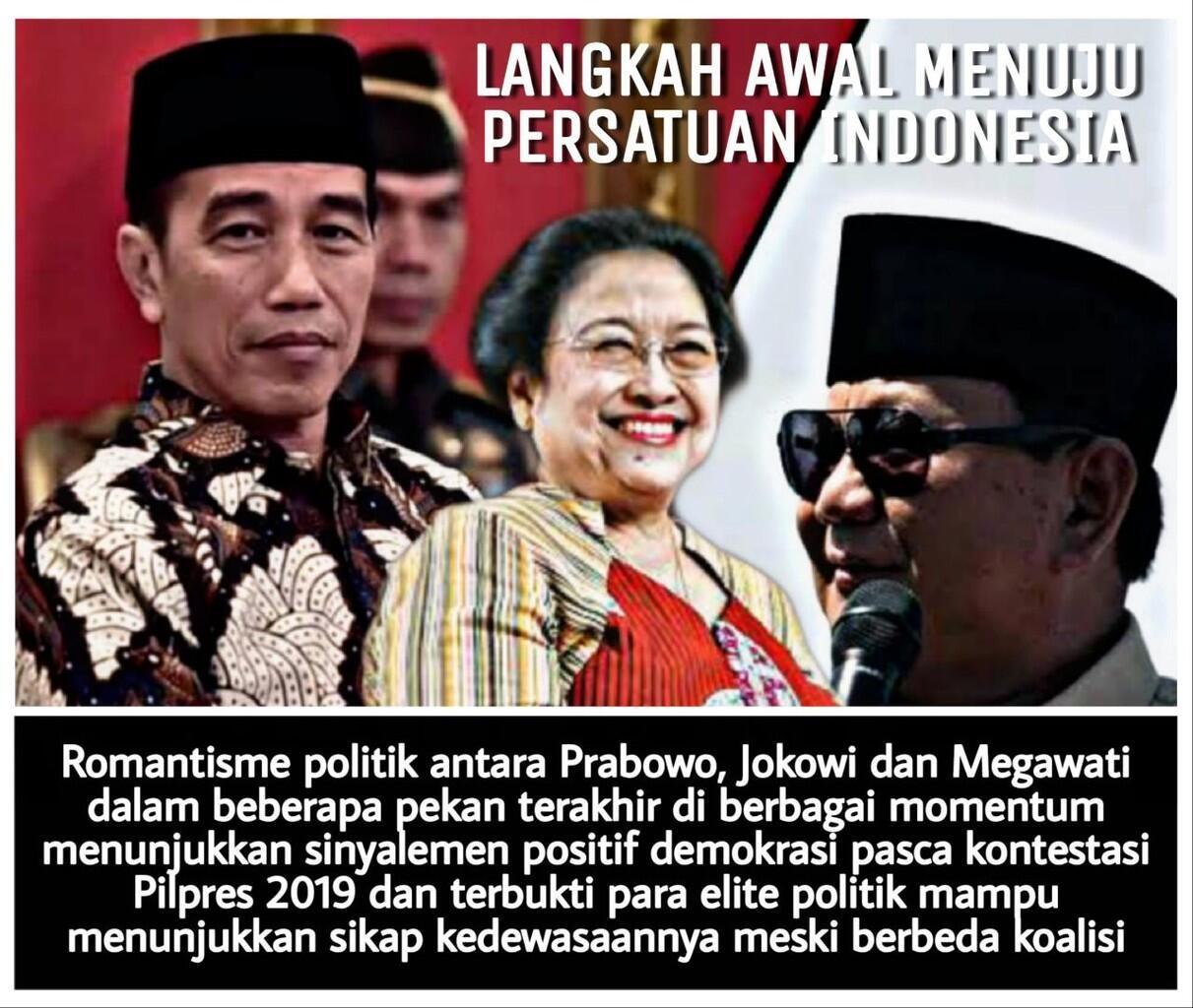 Pertemuan Prabowo, Megawati dan Jokowi, Inilah Romantisme Tokoh Bangsa Indonesia