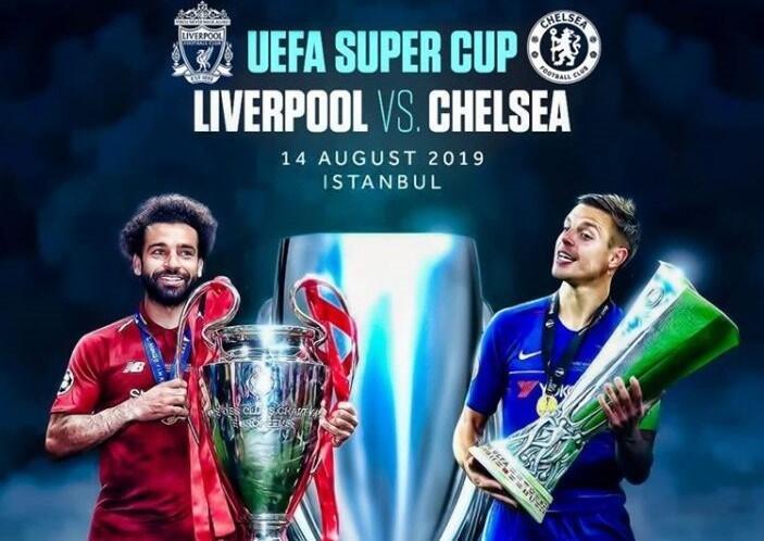 Ini Lima Fakta Menarik Liverpool vs Chelsea di Piala Super Eropa