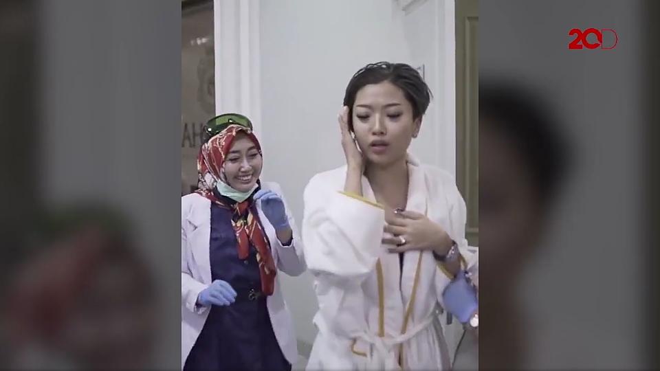 Viral Video Lucu Bunyi 'Pletak Pletok' Saat Perawatan Wajah, Dokter dan Pasien Ngakak