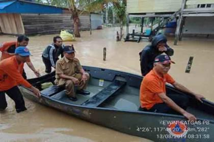 Banjir Rendam Dusun Mamolo di Kabupaten Nunukan Kaltara