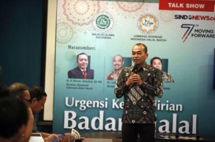 KORAN SINDO-SINDOnews Gelar Talkshow Bahas Kemandirian Badan Halal